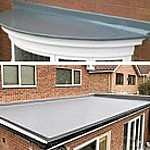 Glass fibre flatroofing systems Cornwall and Devon